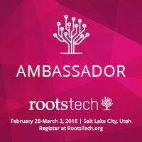 I'm a RootsTech Ambassador!