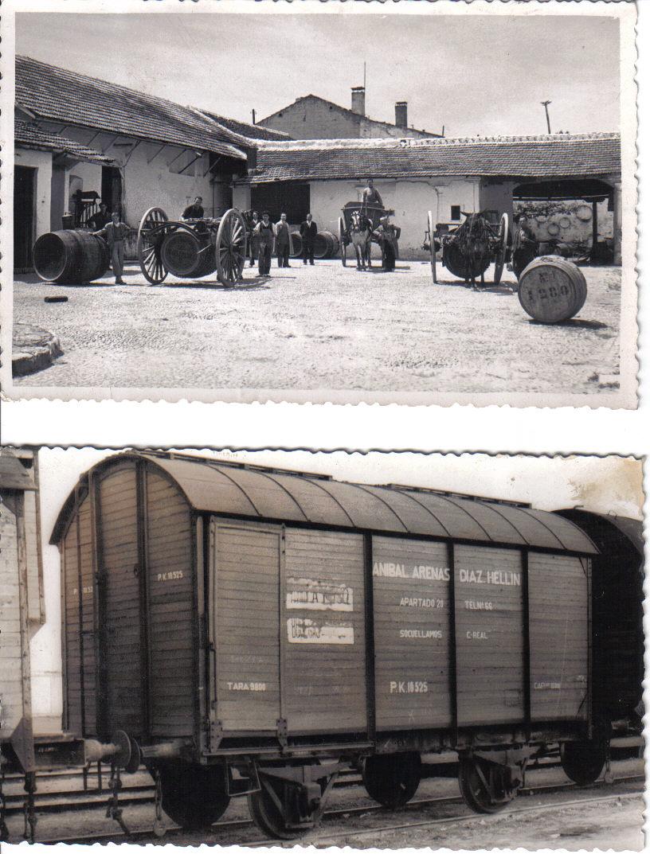 Resultado de imagen para ferrocarril de carga de uvas siglo XX
