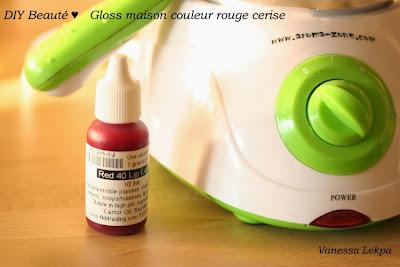gloss rouge colorant intense recette parfaite