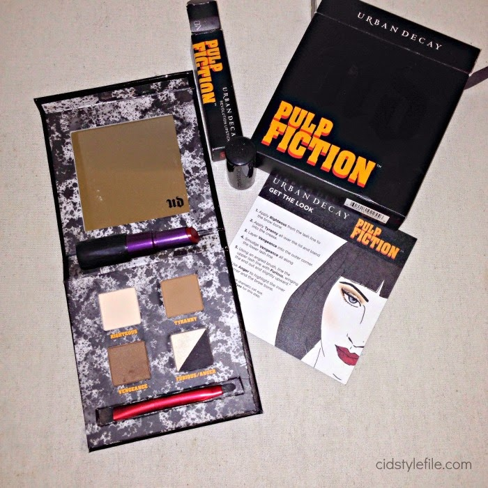 urban decay, pulp fiction, mrs mia wallace, uma thurman, make up, revolution lipstick