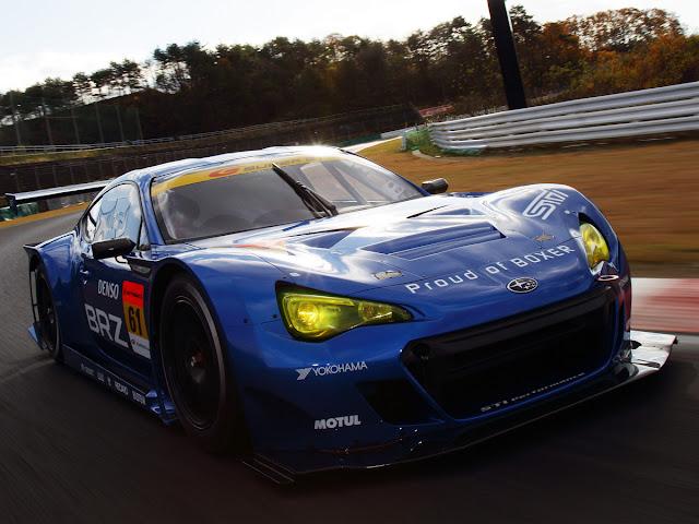 Subaru BRZ, GT300, Super GT, JDM, wyścigi w Japonii, wyścigowe samochody, boxer, RWD