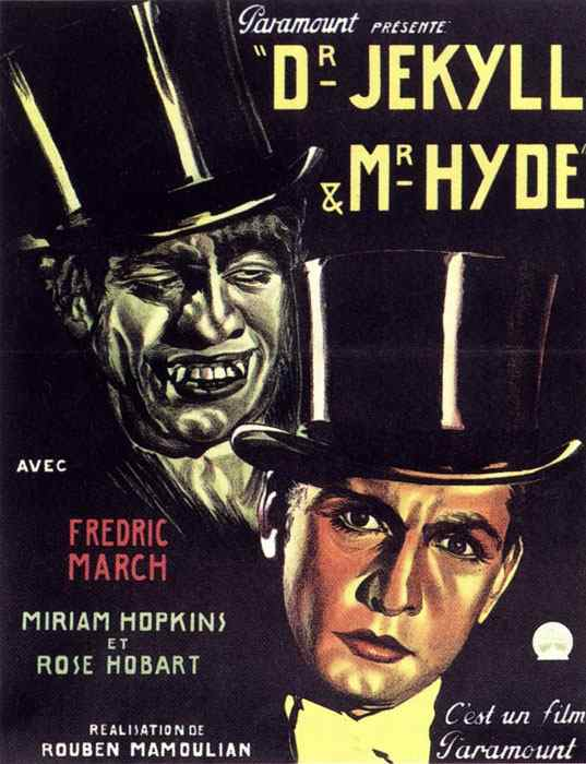 Dr. Jekyll and Mr. Hyde (1931) Fredric March