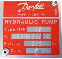 Danfoss HTP25 HTP40 pump - hydrostatic transmission pump