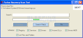 Download Farbar Recovery Scan Tool