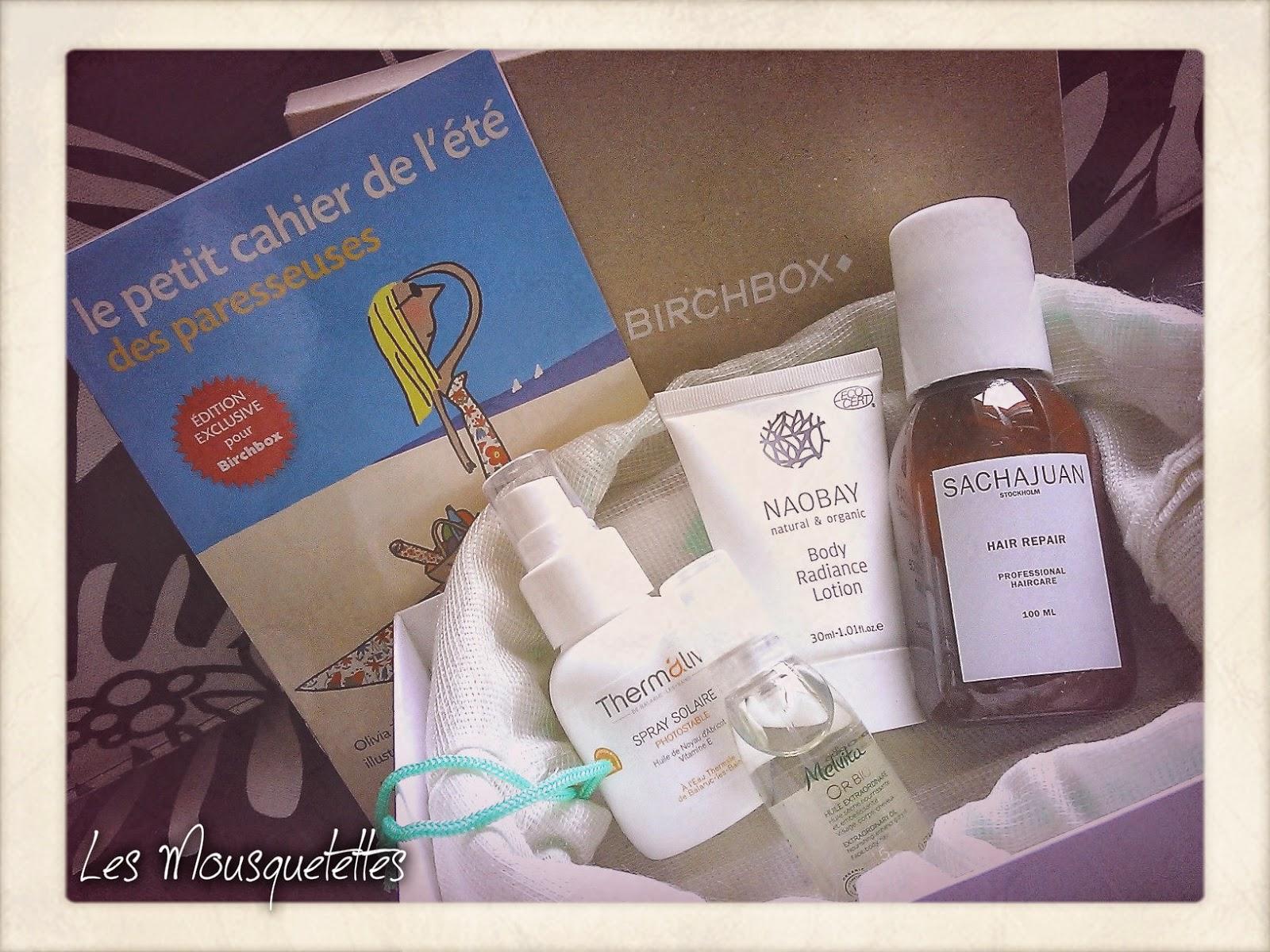 Contenu Birchbox Juin 2014 Be Happy - Les Mousquetettes©