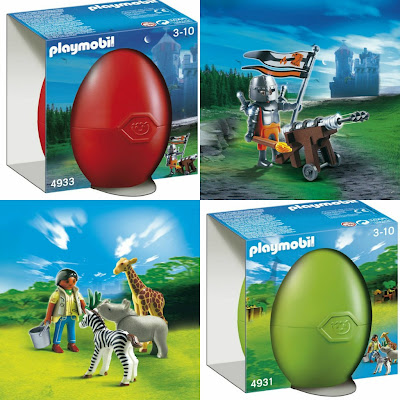 Playmobil Gift Eggs