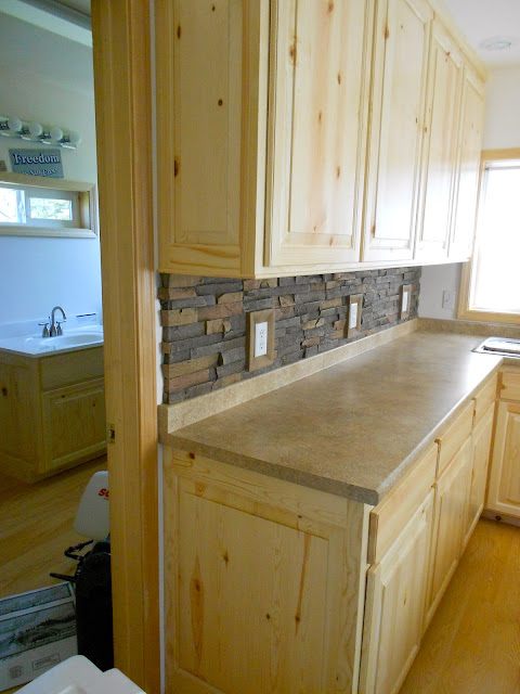 Architectural wood designs knotty pine cabinets - Knotty pine cabinets makeover ...