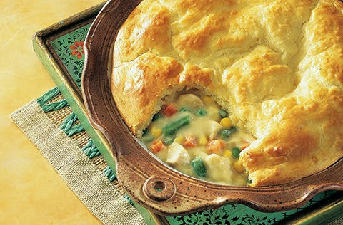 Amish recipe Chicken Pot Pie