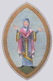 Anglo-Saxon Nun