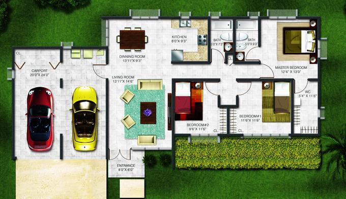 Planos de casas modelos y dise os de casas noviembre 2012 for Planos de casas con sus medidas