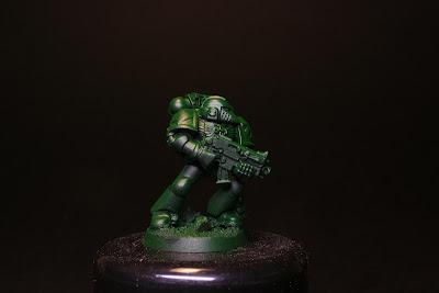 Primeras luces con Dark Angel Green del marine de los Ángeles Oscuros