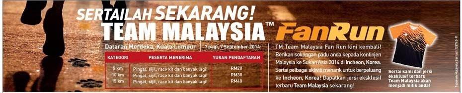 TM Team Malaysia Fan Run Is Back!