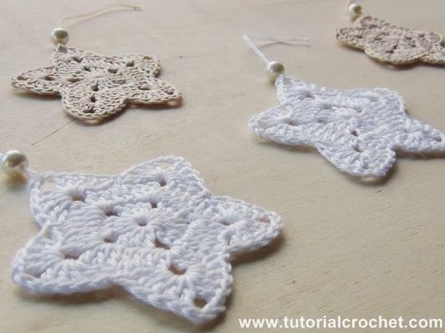 Crochet Tutorial: Schemi Stelle di Natale