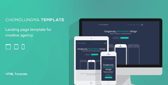 Marketing Responsive Landing Page Theme