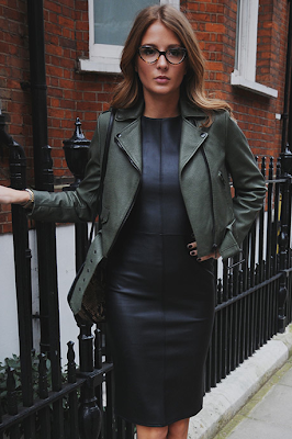 Leather Look, Faux Leather, Millie Mackintosh, MIC, Black, Midi, Dress, Missguided