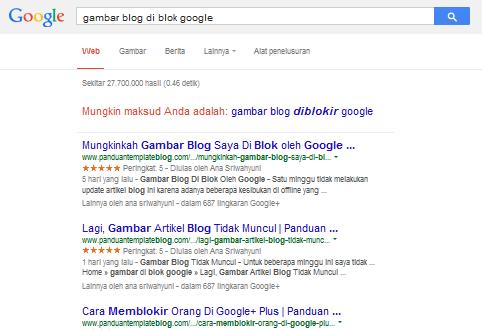 Google Blogger Kembalikan Tampilan Gambar Blog Saya