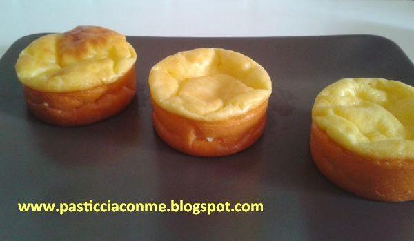 tortine di crema all'arancia