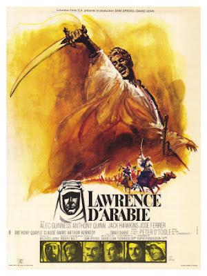Cartel película Lawrence de Arabia. Blog Esteban Capdevila