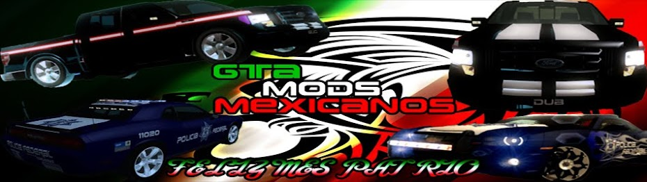 GTA mods mexicanos