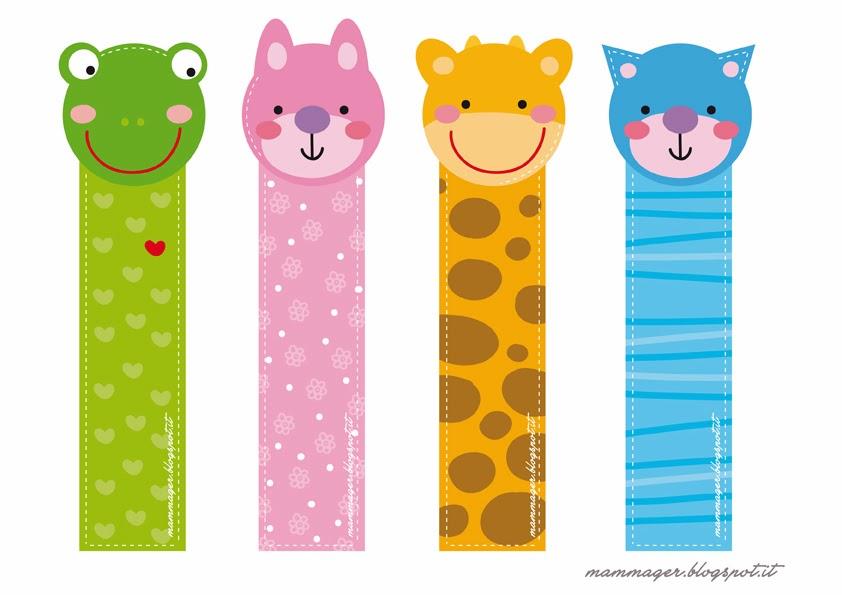 Segnalibri per bambini da stampare rc06 pineglen - Stampabili per bambini gratis ...