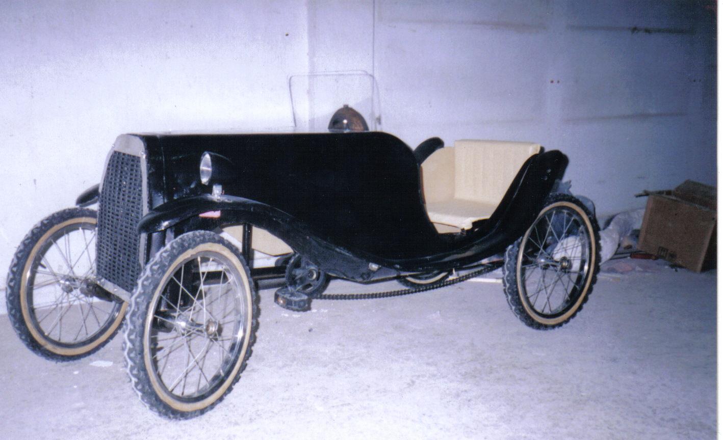 pedal car an adult Build