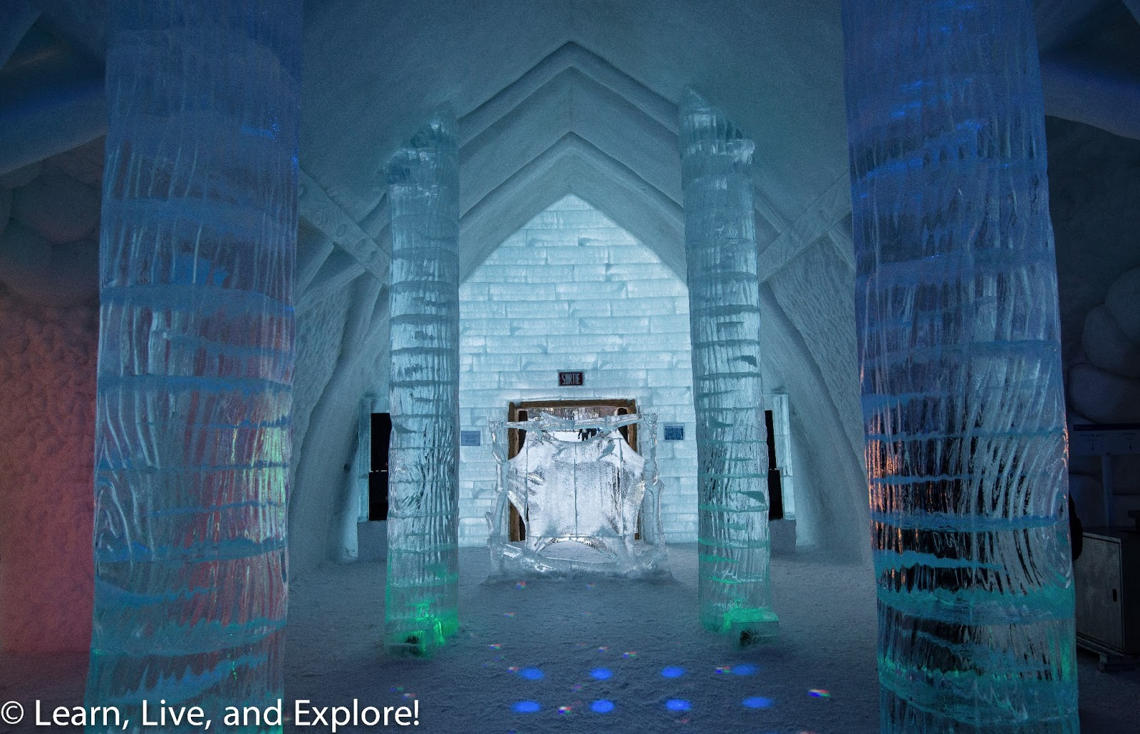 Quebec City And An Ice Hotel Brrrr Learn Live And