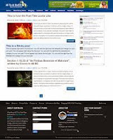 seo blogger template