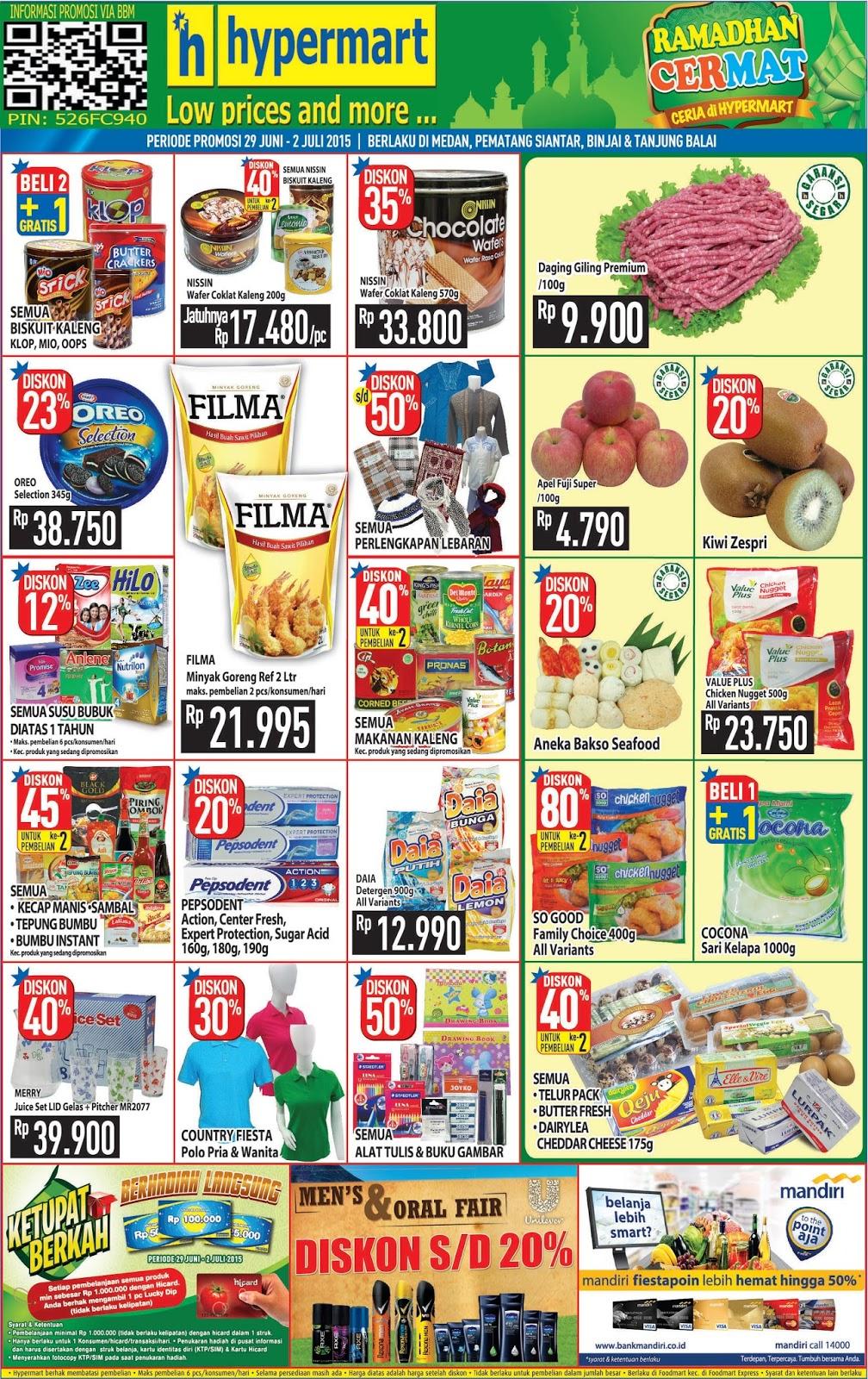 Promo Hypermart Tj Balai 2015 Heboh 3 Pack My Baby Minyak Telon Plus 90 Ml Value Chicken Nugget 500g All Variant Rp 23750 Diskon 45 Pembelian Ke 2 Semua Kecap Manis Sambal Tepung Bumbu Instant