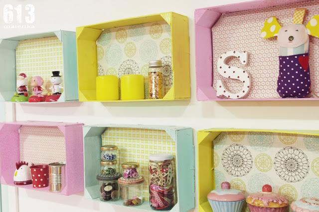 Como decorar con cajas de fresas  Laur