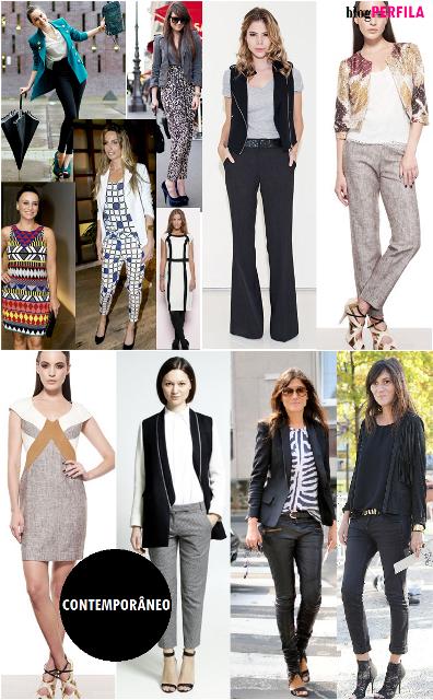 Perfila tipos de estilo for Estilo contemporaneo moda