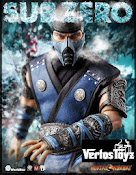 Pre Order World Box Sub Zero1/6 scale Mortal Combat