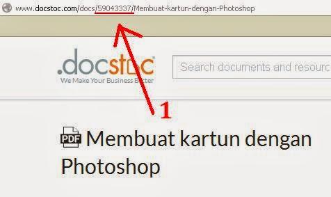 langkah 4 cara download ebook di docstoc