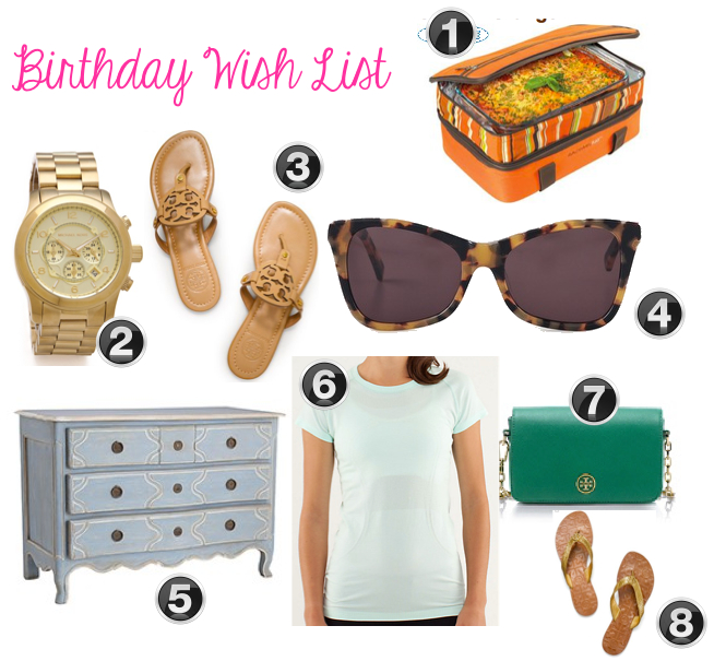 Home of malones birthday wish list house update for Home wish list