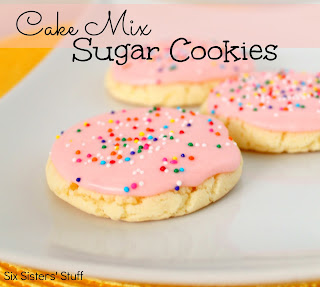 How Do U Make Cookies From Cake Mix
