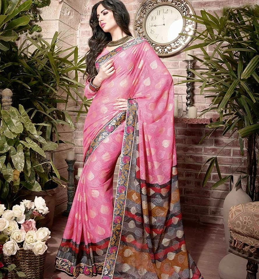 Estilo y hogar: La belleza de los vestidos de mujer en la India.