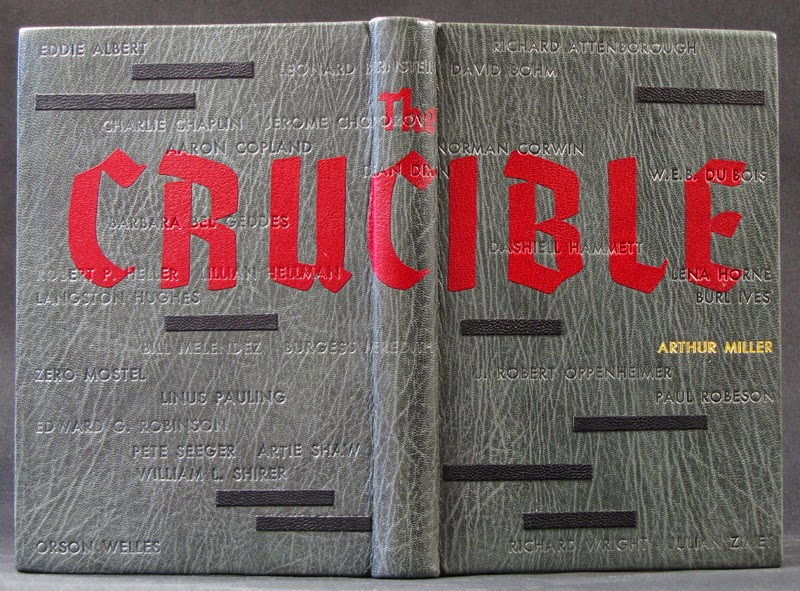 fear crucible arthur miller Inspired by the mccarthy hearings of the 1950s, arthur miller's play, the crucible, focuses on the inconsistencies of the salem witch trials and the extreme behavior that can result from dark desires and hidden agendas miller bases the play on the historical account of the salem witch trials.