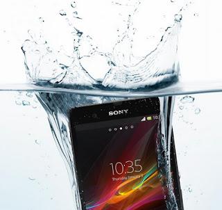 Xperia Z, Water Resistant, Sony