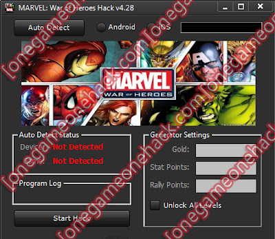 Marvel War of Heroes Game