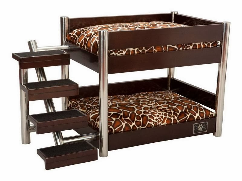 wooden dog bed raised elevated matress frame wood stainless steel bunk