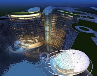 Hotel cantera en China