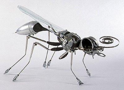Animaux jouets constitués d'acier