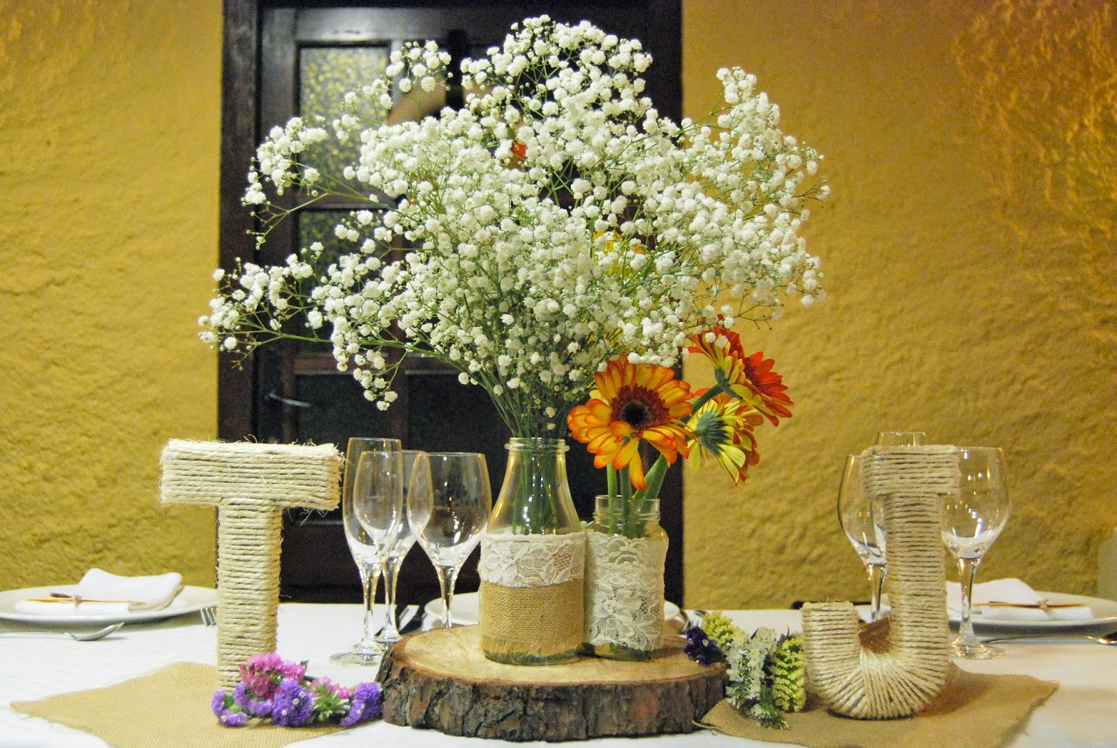 Boda r stica tam javi felt feel - Ideas para decoracion rustica ...