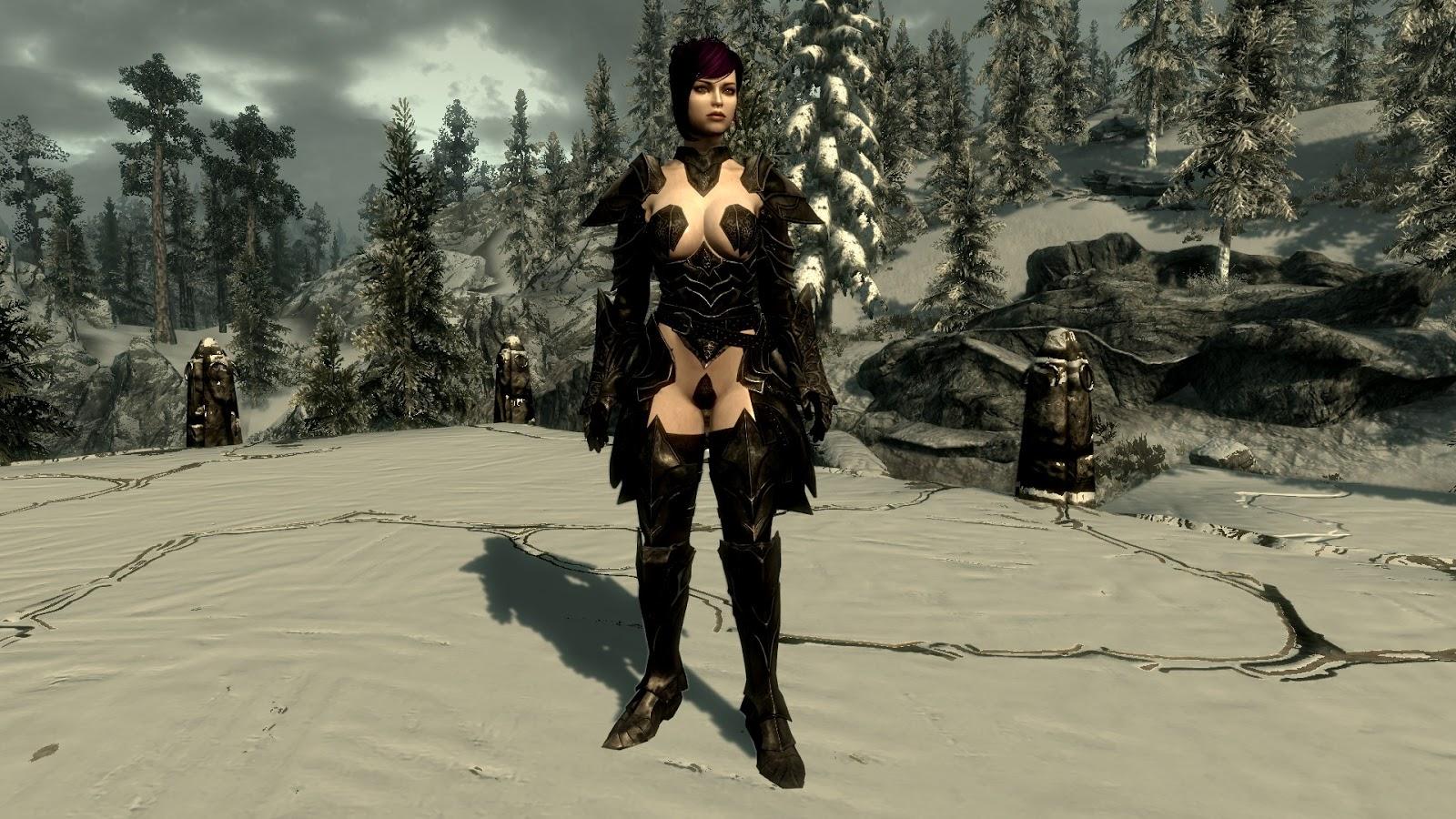 Where to find ebony armor skyrim