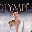 Le modelle della pubblicità: Luma Grothe moderna dea per il profumo Olympéa di Paco Rabanne