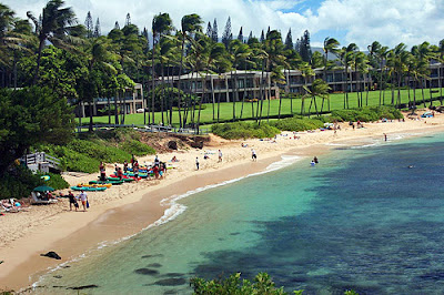 Kapalua Beach Hawaii