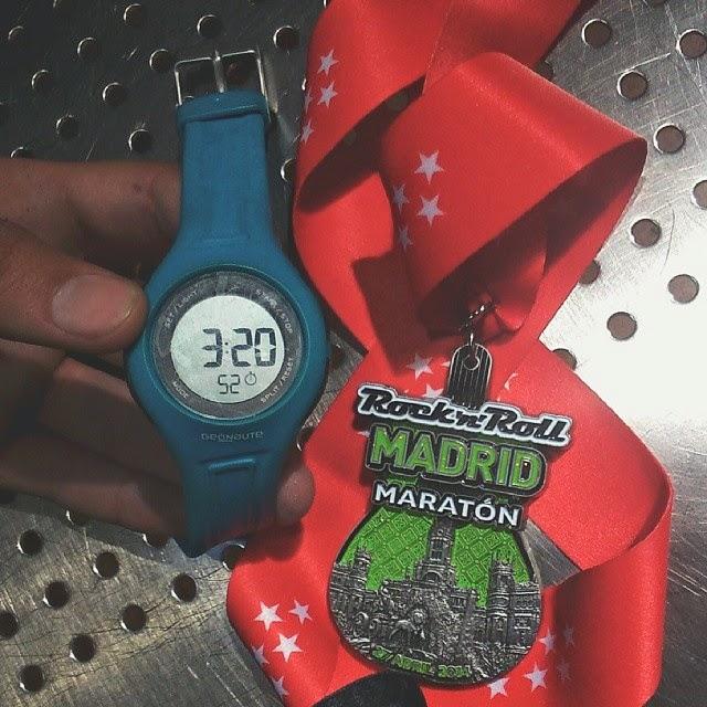 medalla maraton madrid 2014