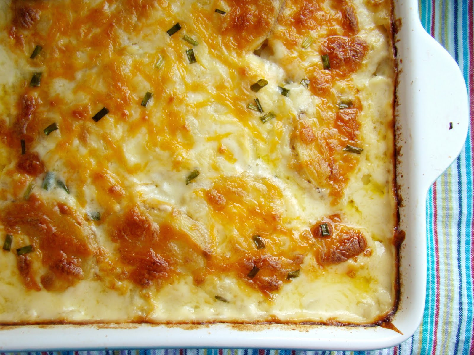 Family Feedbag: Cheesy scalloped potatoes