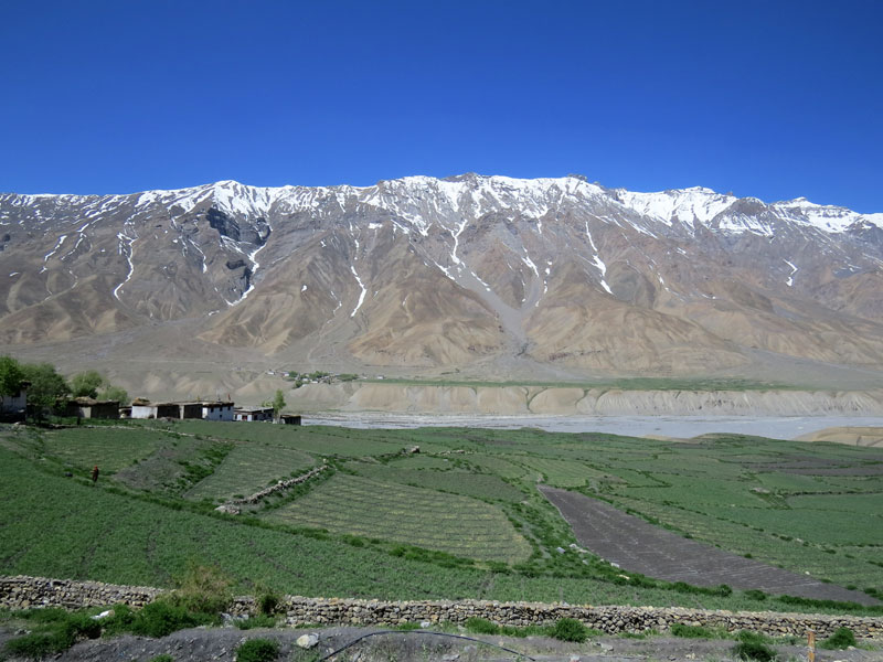 Kaza India  City new picture : ... Everything: Kaza, a beautiful little town in Himachal Pradesh, India