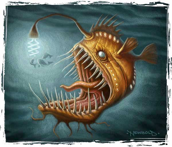 Lost in fantasy muddy colors for What is an angler fish