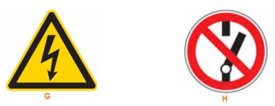 Tanda / symbol keselamatan yang biasanya ada di tempat kerja